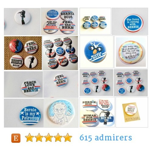 Bernie Sanders!!! #etsy shop #berniesanders!!! @fetchmybutton  #etsy #PromoteEtsy #PictureVideo @SharePicVideo
