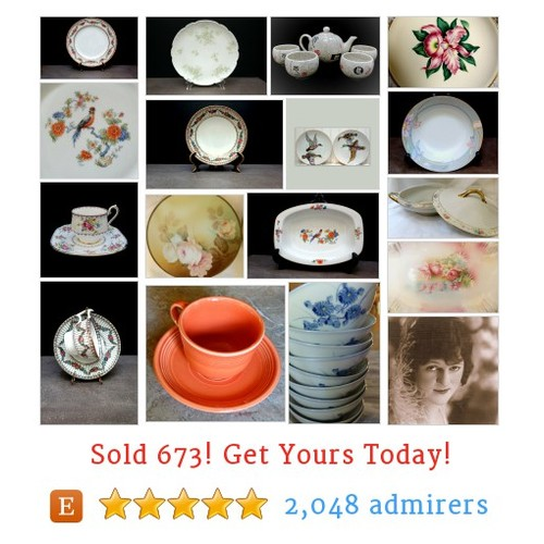 Porcelain and China Etsy shop #etsy @cendearments  #etsy #PromoteEtsy #PictureVideo @SharePicVideo