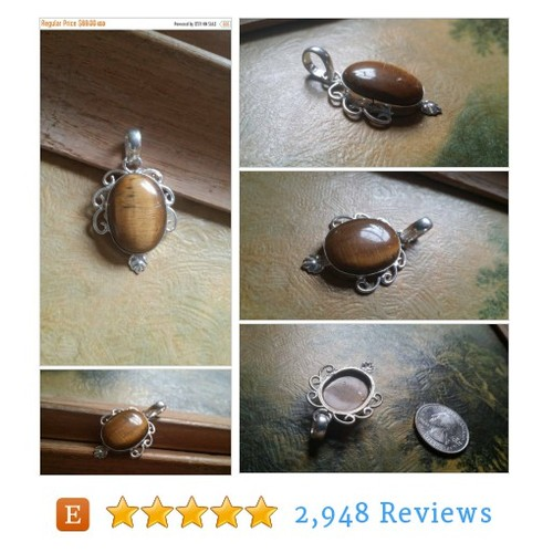 75% OFF SALE Tiger Eye Pendant Gemstones . #etsy @prem71826765  #etsy #PromoteEtsy #PictureVideo @SharePicVideo