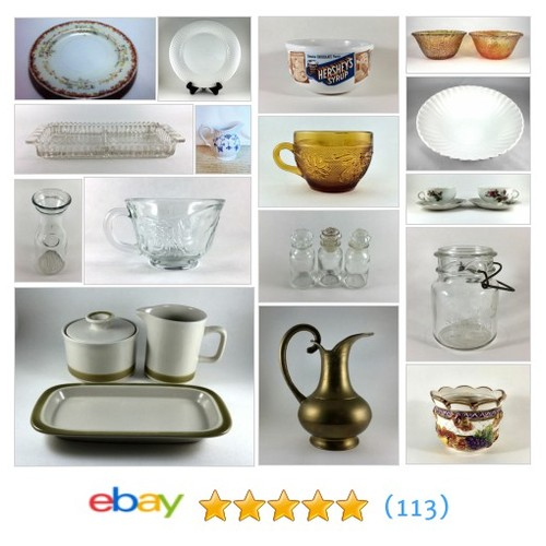 Tableware and Kitchenware Items in taylorjonesantiques store #ebay @antiquestj  #ebay #PromoteEbay #PictureVideo @SharePicVideo