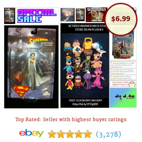 CLOSEOUT SPECIAL-SUPERMAN-THE LAST SON-ZOD-BAD DUDE-DC DIRECT-BASE-NEW~! | eBay #DCDirect #etsy #PromoteEbay #PictureVideo @SharePicVideo
