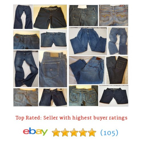 Jeans/Denim Great deals from xlntcondition #ebay @shantel11494544  #ebay #PromoteEbay #PictureVideo @SharePicVideo
