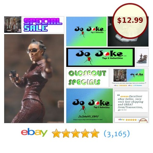 THE MATRIX-NIOBE-JADA PICKETT-SMITH DIORAMA-2003-MCFARLANE-NEW-ULTRACOOL! | eBay #MCFARLANE #etsy #PromoteEbay #PictureVideo @SharePicVideo