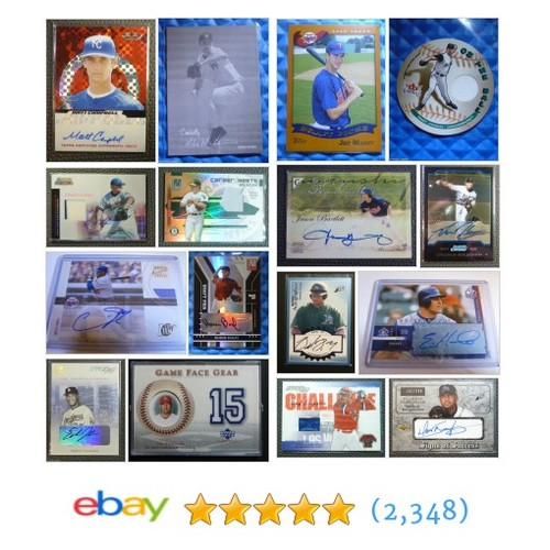 Baseball Cards Great deals from Vintage Assets LLC #ebay @vintageassets https://www.SharePicVideo.com/?ref=PostPicVideoToTwitter-vintageassets #ebay #PromoteEbay #PictureVideo @SharePicVideo