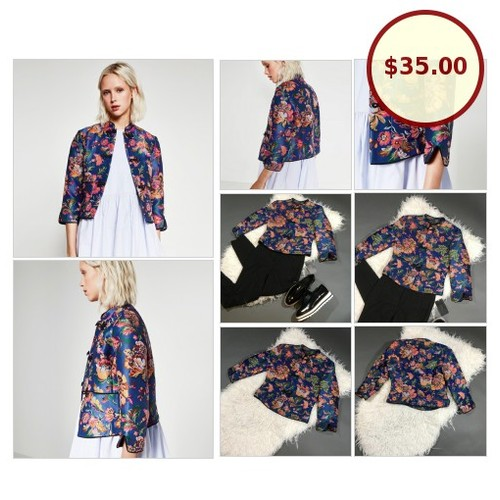 ZARA Floral Print Traditional Chinese Style @sugar__wolf https://www.SharePicVideo.com/?ref=PostPicVideoToTwitter-sugar__wolf #socialselling #PromoteStore #PictureVideo @SharePicVideo