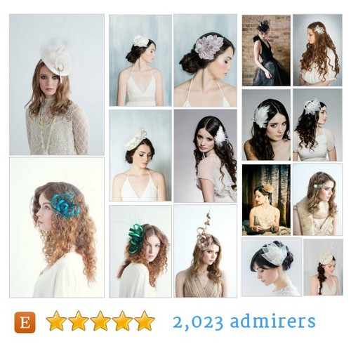 Fascinators & Feathers #etsy shop #feather #fascinator @blairnadeau  #etsy #PromoteEtsy #PictureVideo @SharePicVideo