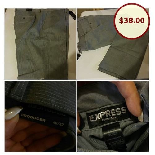 EXPRESS Mens producer grey pants NEW sz @fashionklutz16 https://www.SharePicVideo.com/?ref=PostPicVideoToTwitter-fashionklutz16 #socialselling #PromoteStore #PictureVideo @SharePicVideo
