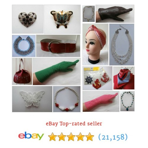 Ladies' Vintage Accessories in smallbutdeadly's Vintage Store store !  @sbdvintage #ebay  #ebay #PromoteEbay #PictureVideo @SharePicVideo