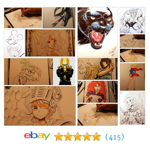 Art Drawings Items in KeyeskeKara Creations store #ebay @dccomicart  #ebay #PromoteEbay #PictureVideo @SharePicVideo