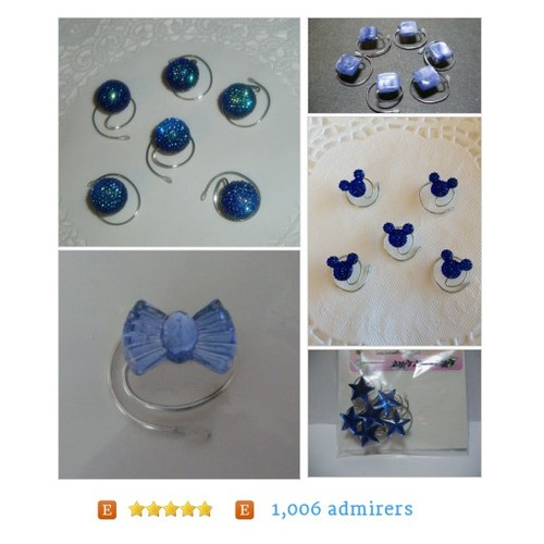 Is #Blue your #color? JEWELRY FOR YOUR HAIR by HairSwirls1 Etsy shop  #etsy #PromoteEtsy #PictureVideo @SharePicVideo