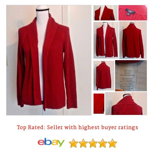 Talbots #Sweater Size Petite Medium Red Cardigan | eBay #Talbot #Cardigan #etsy #PromoteEbay #PictureVideo @SharePicVideo