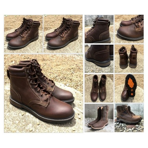 Ariat Men's Leather Brown Lace Up Hiking Boots @PaintedCowgirl_ #shopify  #socialselling #PromoteStore #PictureVideo @SharePicVideo
