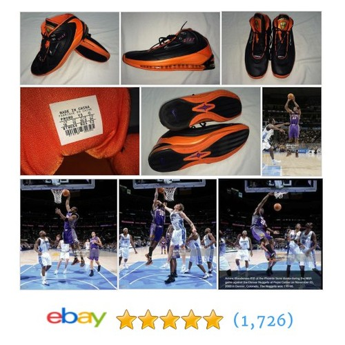 Amare Stoudemire Phoenix Suns Game Used Shoes RARE Nike PE STAT #ebay @bossfinds  #etsy #PromoteEbay #PictureVideo @SharePicVideo