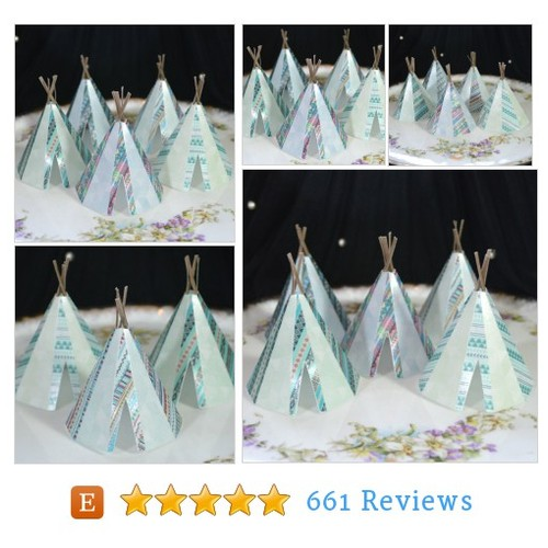 Edible Teepee's 3D x 5 Tribal Boho Blue #etsy @tijawickstead  #etsy #PromoteEtsy #PictureVideo @SharePicVideo