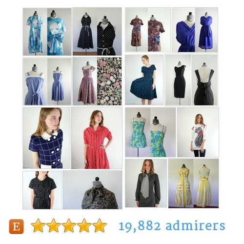 vintage dresses (M - L) #etsy shop #vintagedress @jessjamesjake  #etsy #PromoteEtsy #PictureVideo @SharePicVideo
