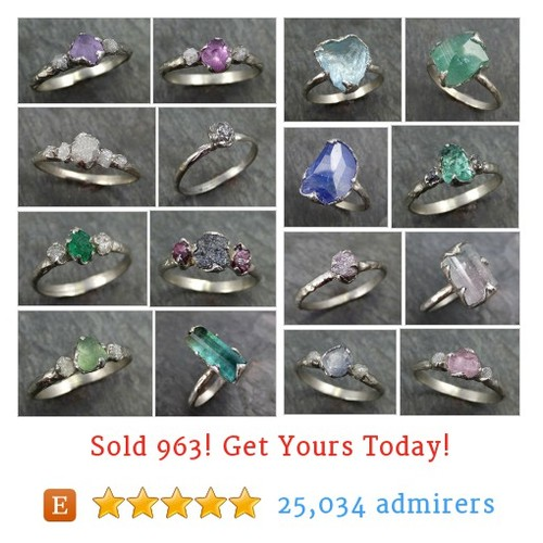 White Gold Rings Etsy shop #etsy @angelinecrowder  #etsy #PromoteEtsy #PictureVideo @SharePicVideo