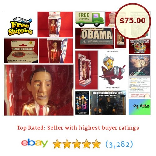 BARACK OBAMA-LIMITED ED OF 3000-NUMBERED--GOLD SUITJAILHOUSE TOYS-2008 RARE-NEW! | eBay #JAILHOUSETOY #etsy #PromoteEbay #PictureVideo @SharePicVideo