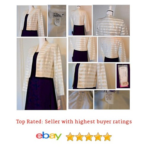 #Patra #Blazer Size 8 Ivory #Gala Spring Marked on Tag | eBay #Suit #Blazer #etsy #PromoteEbay #PictureVideo @SharePicVideo