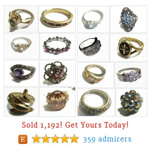 Vintage Rings Etsy shop #vintagering #etsy @baobabtree54  #etsy #PromoteEtsy #PictureVideo @SharePicVideo