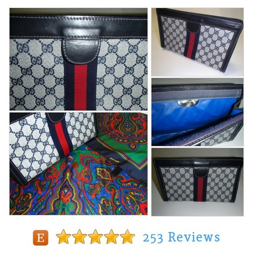 GUCCI CLUTCH/Bag 1980s Italy/Pierre Cardin #etsy @nyzdesigns https://www.SharePicVideo.com/?ref=PostPicVideoToTwitter-nyzdesigns #etsy #PromoteEtsy #PictureVideo @SharePicVideo