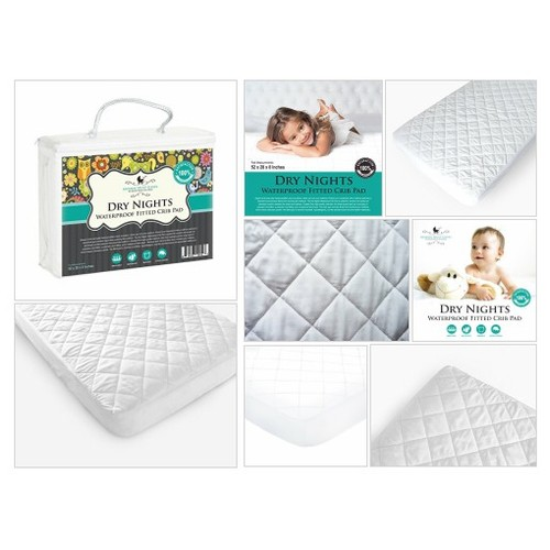 #Waterproof# Fitted #Crib #Pad Mommy Must-Haves, Baby Crib# Fitted #Mattres#s Protector #socialselling #PromoteStore #PictureVideo @SharePicVideo