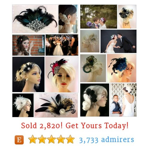 Fascinators Etsy shop #fascinator #etsy @sherrielovely  #etsy #PromoteEtsy #PictureVideo @SharePicVideo