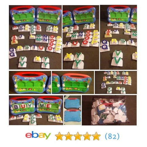 2 Word Whammers Fridge Phonics Sets w/ Letters SEE DESCRIPTION #ebay @jessica92joel  #etsy #PromoteEbay #PictureVideo @SharePicVideo