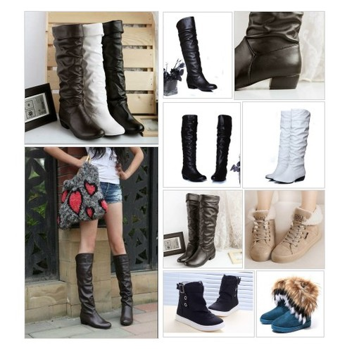 Women's Knee High Boots @terrysgirls #shopify #PromoteStore #PictureVideo @SharePicVideo