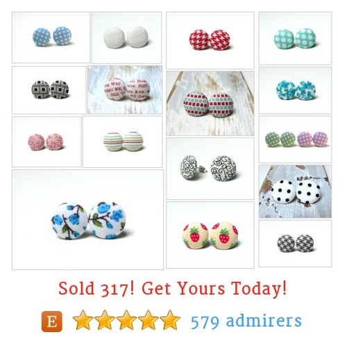 Small button earrings Etsy shop #smallbuttonearring #etsy @slavicabbb  #etsy #PromoteEtsy #PictureVideo @SharePicVideo