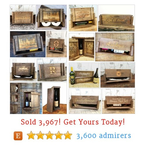 Wood Beer & Wine Boxes Etsy shop #winebox #woodbeer #etsy @reimaginebrewin  #etsy #PromoteEtsy #PictureVideo @SharePicVideo