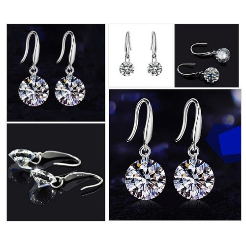 .925 Swarovski Crystal Drill Earrings @SilverMBJewelry https://SharePicVideo.com?ref=PostVideoToTwitter-SilverMBJewelry #shopify #PromoteStore #PictureVideo @SharePicVideo