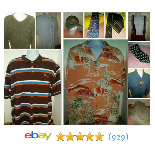 Men's Clothing Items in Wicki Wishes store #ebay @wickiwishes  #ebay #PromoteEbay #PictureVideo @SharePicVideo