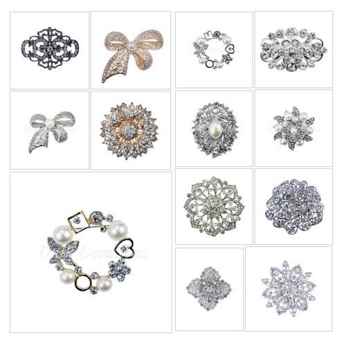 Rhinestone Brooches @UnikOccasions #shopify  #shopify #PromoteStore #PictureVideo @SharePicVideo