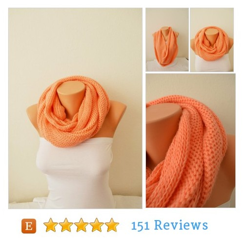 Salmon Men's Women's scarves #etsy @NesrinArt  #etsy #PromoteEtsy #PictureVideo @SharePicVideo