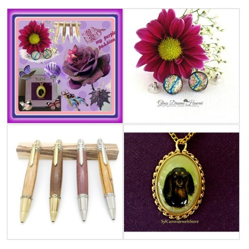 My Purple Passion #artset #artexpression #polyvorestyle  www.etsy.com/shop/SylCameoJewelsStore #integritytt #etsyspecialt  #socialselling #PromoteStore #PictureVideo @SharePicVideo