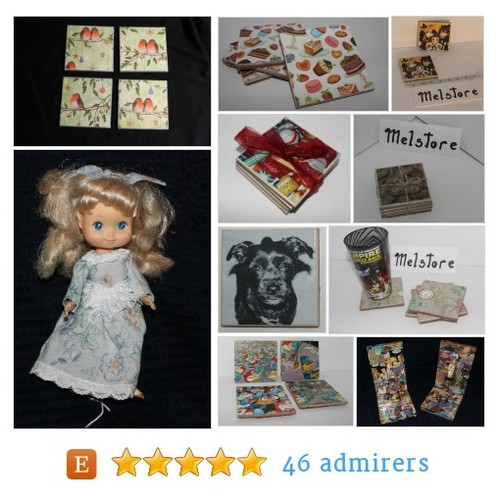 mod podge coasters , bookends , picture frame , mirrors by melstore Etsy shop @thegoddess1976 #etsy #PromoteEtsy #PictureVideo @SharePicVideo