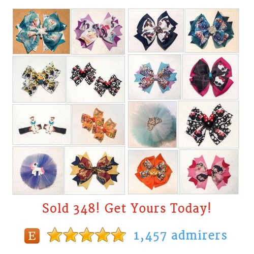 Character Hair Bows Etsy shop #etsy @itsespecially4u https://www.SharePicVideo.com/?ref=PostPicVideoToTwitter-itsespecially4u #etsy #PromoteEtsy #PictureVideo @SharePicVideo