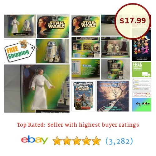 STAR WARS-PRINCESS LEIA&R2-D2-CARRIE FISHER-PL-COLLECTION-1997-CARD-KENNER-RARE! | eBay #KENNER1997 #etsy #PromoteEbay #PictureVideo @SharePicVideo