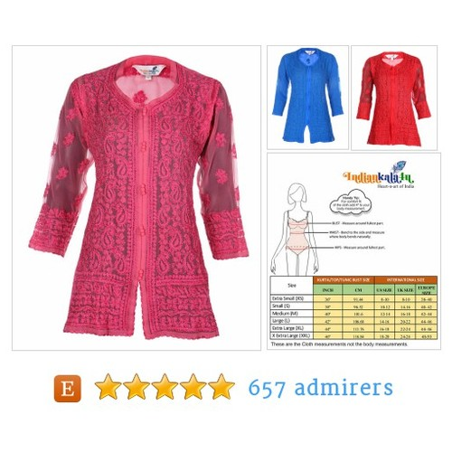 India Indiankala4U Ladies  Kurtis/Top/Tunic for summer wear women/ladies/girls #Top #Tee #Clothing #UKSOPRO #REPOST #etsy #PromoteEtsy #PictureVideo @SharePicVideo