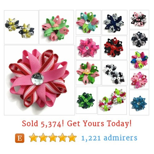 Hair Bows Etsy shop #etsy @cupcakesclips  #etsy #PromoteEtsy #PictureVideo @SharePicVideo