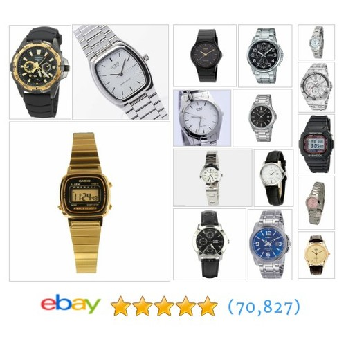 Casio Dress Watches Great deals from Discount Watch LLC #ebay @discountwatchco  #ebay #PromoteEbay #PictureVideo @SharePicVideo