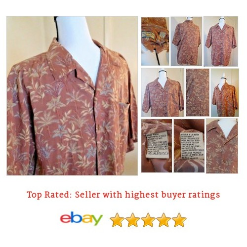 Pusser's #Hawaiian Men's Shirt Size Medium Mauve Palm Trees Silk Blend | eBay #Pusser #CasualShirt #etsy #PromoteEbay #PictureVideo @SharePicVideo