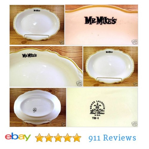 http://www.ebay.com/itm/Mr-Mikes-Oval-11-Platter-Plate-Restaurant-Ware-Retro-Serving-Dinner-Mike-/122223604150? #etsy #PromoteEbay #PictureVideo @SharePicVideo