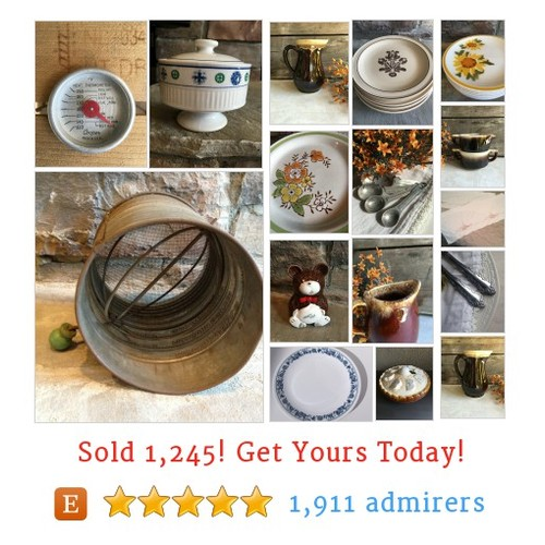VINTAGE KITCHEN GOODS Etsy shop #vintagekitchengood #etsy @myvintagealcove  #etsy #PromoteEtsy #PictureVideo @SharePicVideo