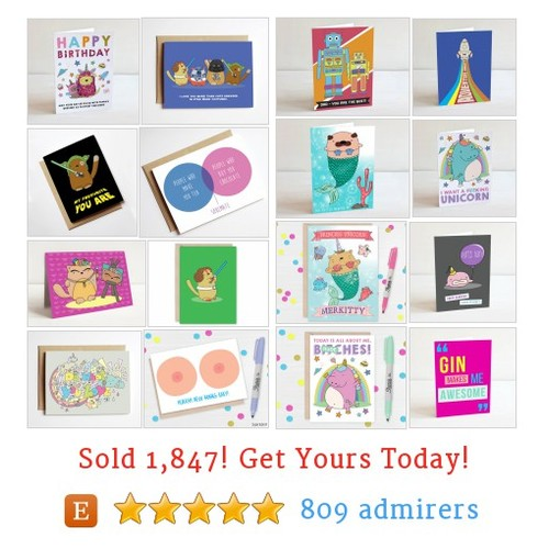 Cards Etsy shop #etsy @sugarandsloth  #etsy #PromoteEtsy #PictureVideo @SharePicVideo