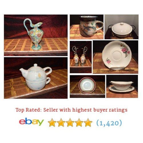 Porcelain/Ceramic/Dishes Items in TheLyonsShop2014 store #ebay @thelyonsshop  #ebay #PromoteEbay #PictureVideo @SharePicVideo