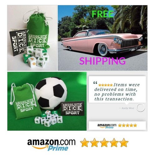 Absolute Dice Sport: Sporty Fun by Absolute Dice No board, no set up, no complicated rules Just roll the dice-play #socialselling #PromoteStore #PictureVideo @SharePicVideo