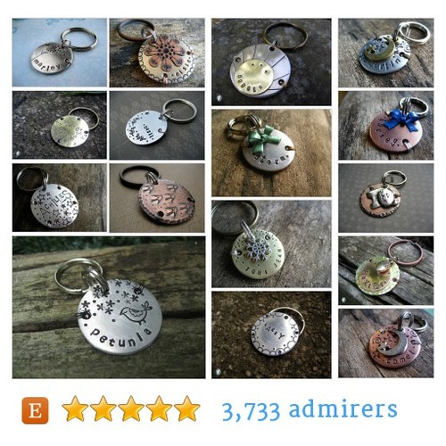 Circle Pet Tags #etsy shop #circlepettag @woowooworkshop  #etsy #PromoteEtsy #PictureVideo @SharePicVideo