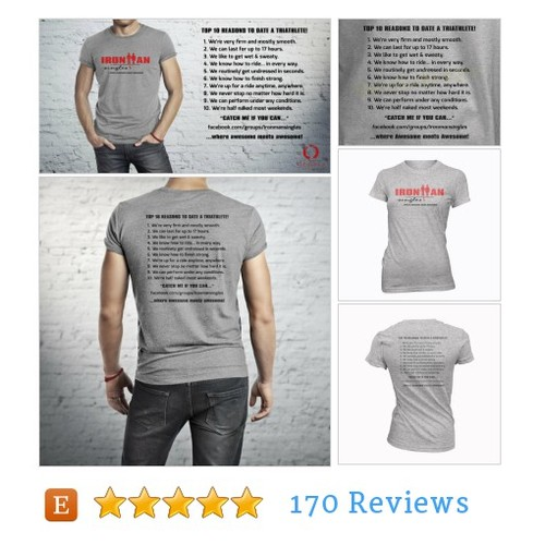 IRONMAN Singles Facebook Group Tshirt - Top #etsy @endudesigns  #etsy #PromoteEtsy #PictureVideo @SharePicVideo