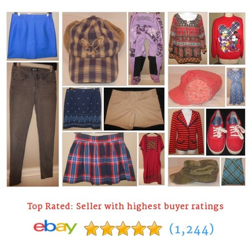 Clothing- Women's Great deals from The Thrifting Goddess #ebay @thriftgoddess  #ebay #PromoteEbay #PictureVideo @SharePicVideo